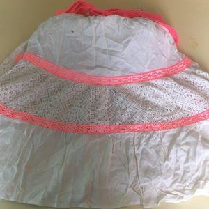 Flying Tomato Dresses - Cream and Pink short summer dress